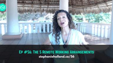 remote work arrangements