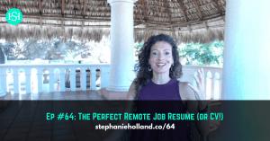 remote job resume