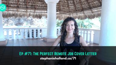 remote job cover letter
