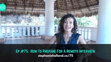 prepare remote interview